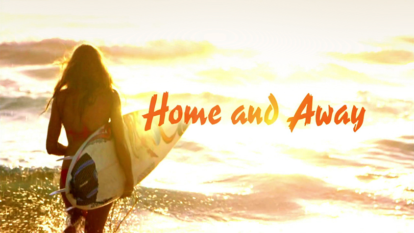 Home & Away Title Card 2015