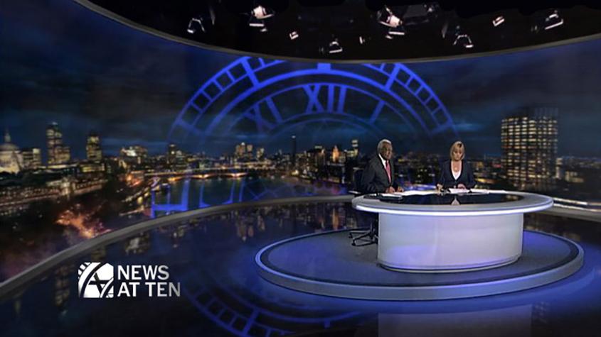 ITV News at Ten Studio Set 2008 (ITN)