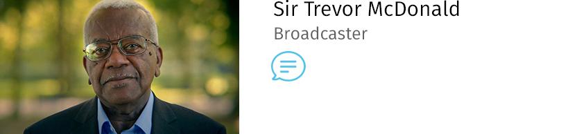 Sir Trevor McDonald (Vision Express)
