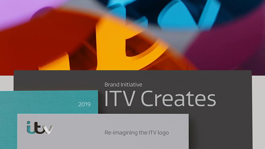 Liz West's logo for 'ITV Creates' © ITV