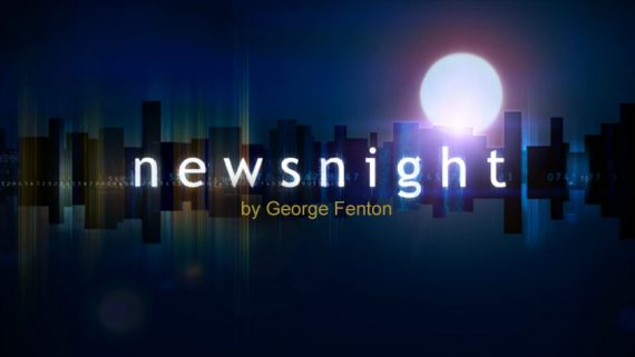 BBC Newsnight title frame (2006-10)