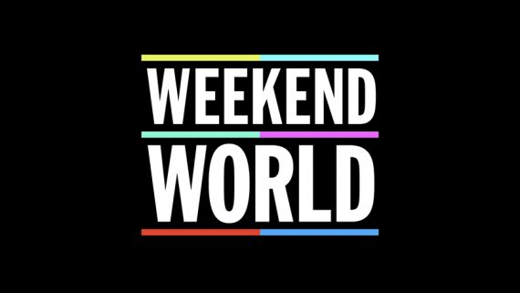 'Weekend World' Title Frame (ITV)
